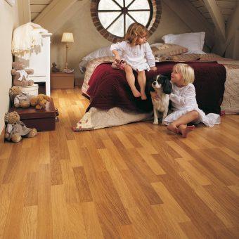 Quickstep Classic Enhanced Oak Natural Varnished