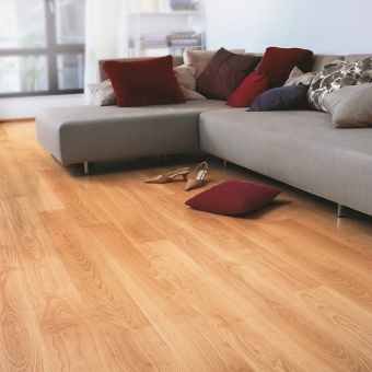 Quickstep Eligna varnished Beech