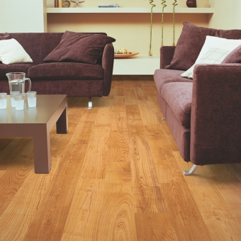 Quickstep Eligna natural varnished Cherry