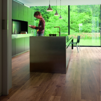 Quickstep Eligna vinatge oak natural varnished u995