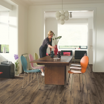 Quickstep Eligna Wide Reclaimed Chestnut Brown