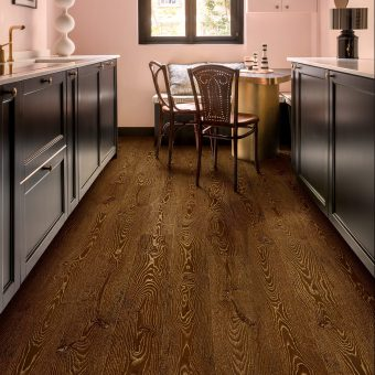 Quickstep Eligna Metallic ceruse oak gold laminate flooring