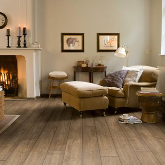 Quickstep Impressive Ultra Scraped Oak Grey Brown IMU1850