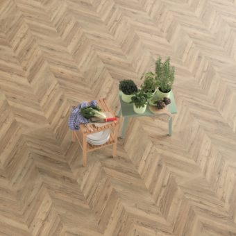 Dark Rillington Oak Herringbone EPL012