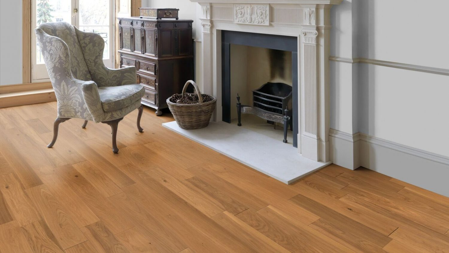 Belle classic engineered lacquered oak 18x150mm nwfloors for Belle flooring