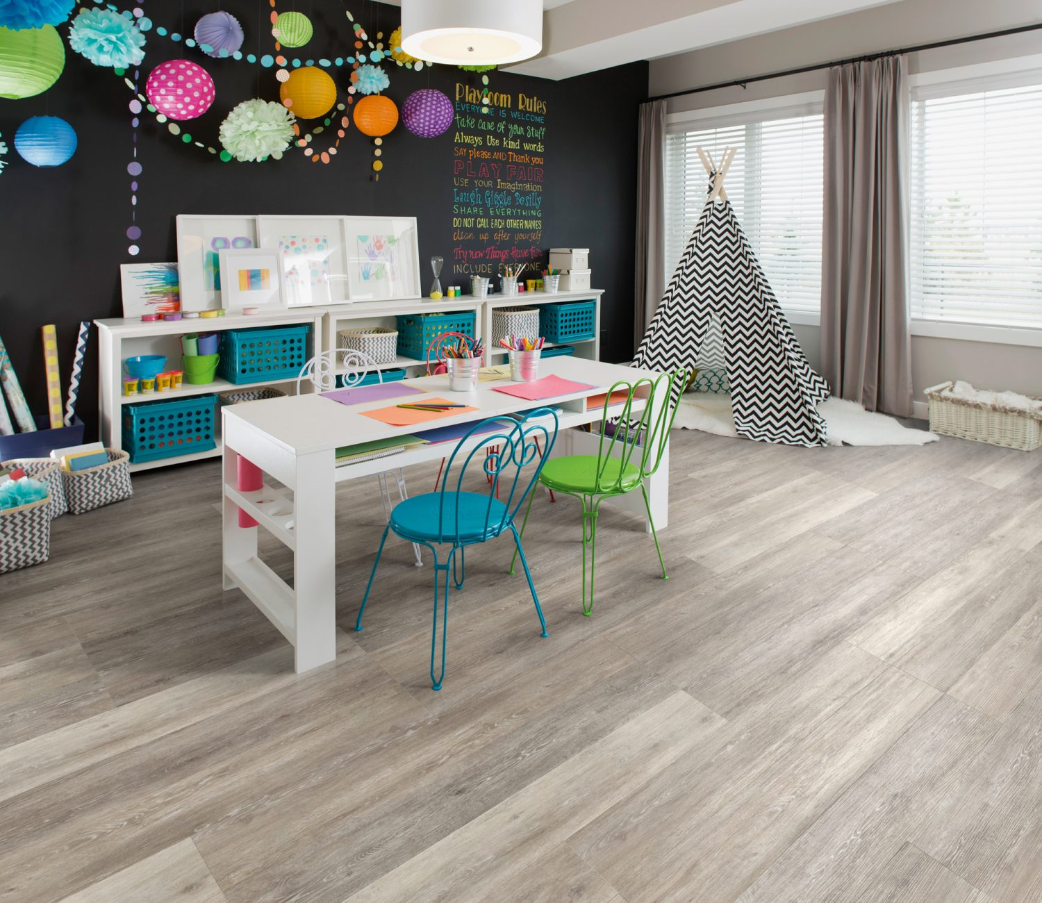 Fusion Willow Grey Luxury Vinyl Flooring 1070
