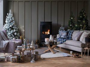 Christmas herringbone image