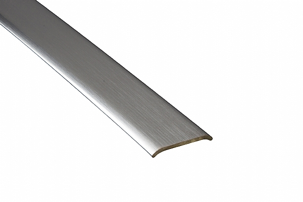 Silver Self Adhesive Cover Strips 2700mm Nwfloors Co Uk