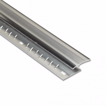 Z-Section Silver Doorplate 0.92m
