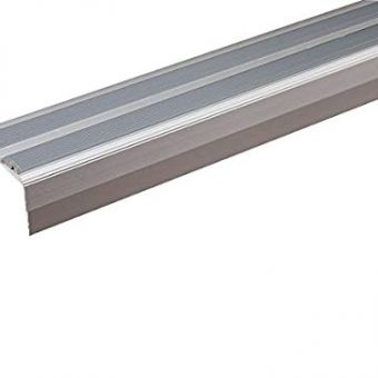Silver Self-Adhesive 8mm nosing
