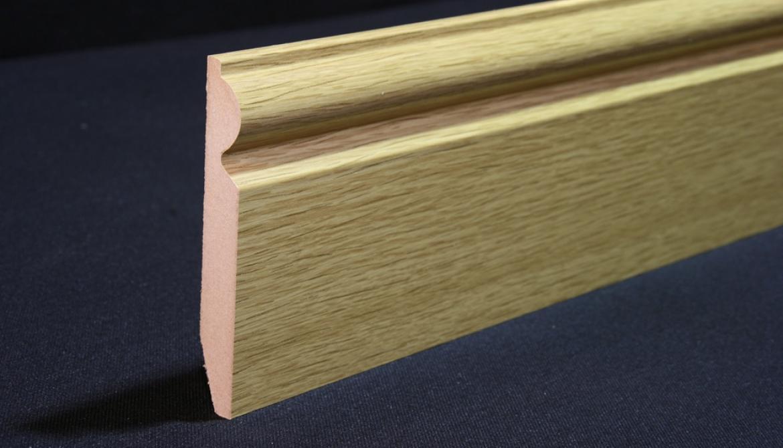 Pencil Round Skirting Board Matching Laminate Flooring