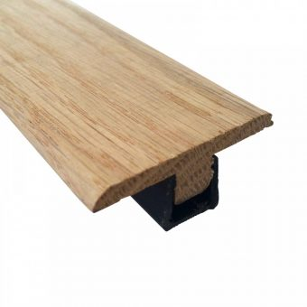 Solid oak t-section