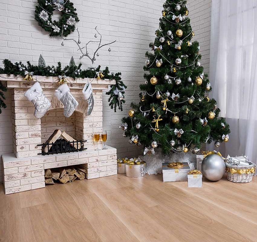 Christmas flooring