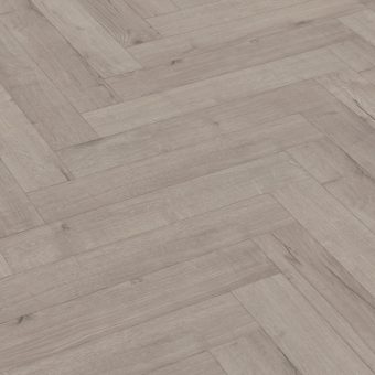 Capital Forza Herringbone Robust Oak Grey 12mm Laminate Flooring