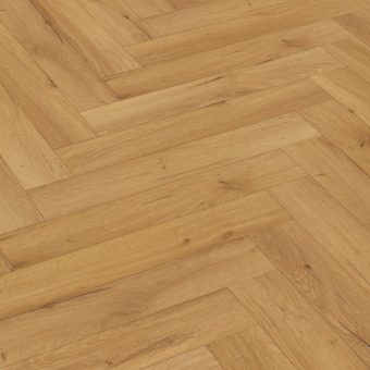 Capital Forza Herringbone Robust Oak Natural 12mm Laminate Flooring