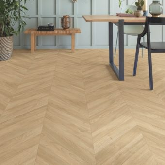 Quickstep Impressive Patterns Chevron Oak Medium