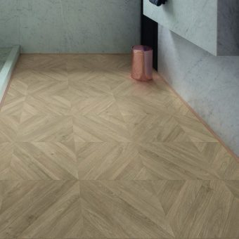 Quickstep Impressive Patterns Chevron Oak Taupe IPA4164
