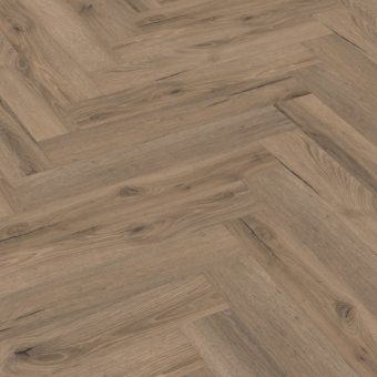 Capital Creation Mocha Oak Herringbone Click Vinyl Flooring