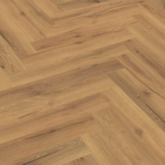 Capital Creation Ranch Oak Herringbone Click Vinyl Flooring