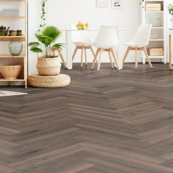Krono Swiss Ferrara Oak D3860 Herringbone Laminate flooring